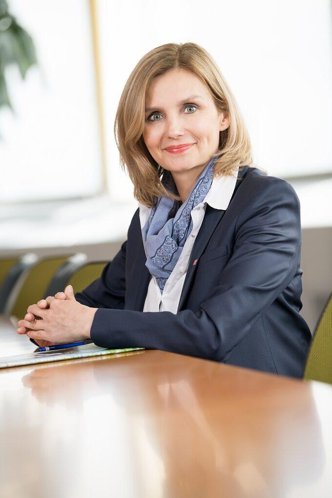 Katarzyna Byczkowska, dyrektor zarządzająca wBASF Polska