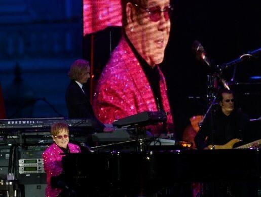 Sir Elton John (fot. TOBIAS HASE EPA/PAP)
