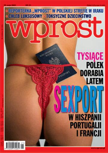 Okładka tygodnika Wprost nr 21/2003 (1069)