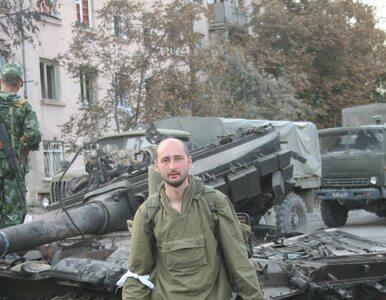 """""""Zamordowany"""" rosyjski dziennikarz jednak żyje. Służby mówią o prowokacji"""
