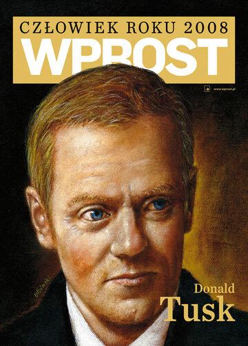 Okładka tygodnika Wprost nr 6/2009 (1361)