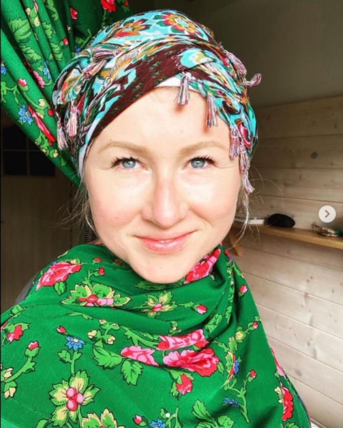 Aktorka Karolina Piechota