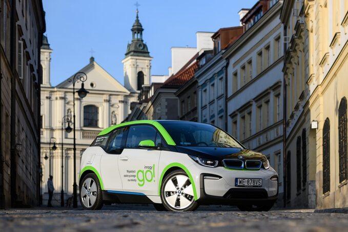 Elektryczne BMW i3 dostępne wcar sharingu Innogy go!