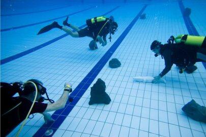 Wystawa rzeźby pod wodą