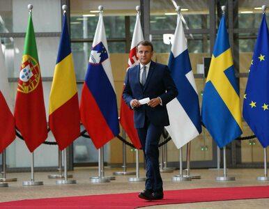 Macron: Praworządność jest kluczowa dla tego budżetu. Praworządność jest...
