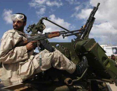 Libijscy rebelianci: bombardujcie, ale nie wkraczajcie