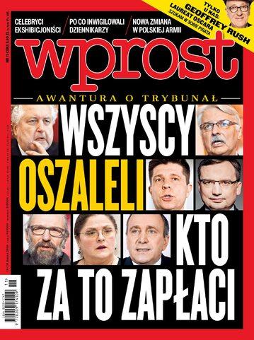 Okładka tygodnika Wprost nr 11/2016 (1728)