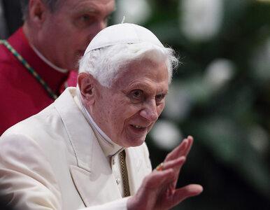 """Benedykt XVI opowiedział o kulisach konklawe. """"Miałem jeszcze nadzieję,..."""
