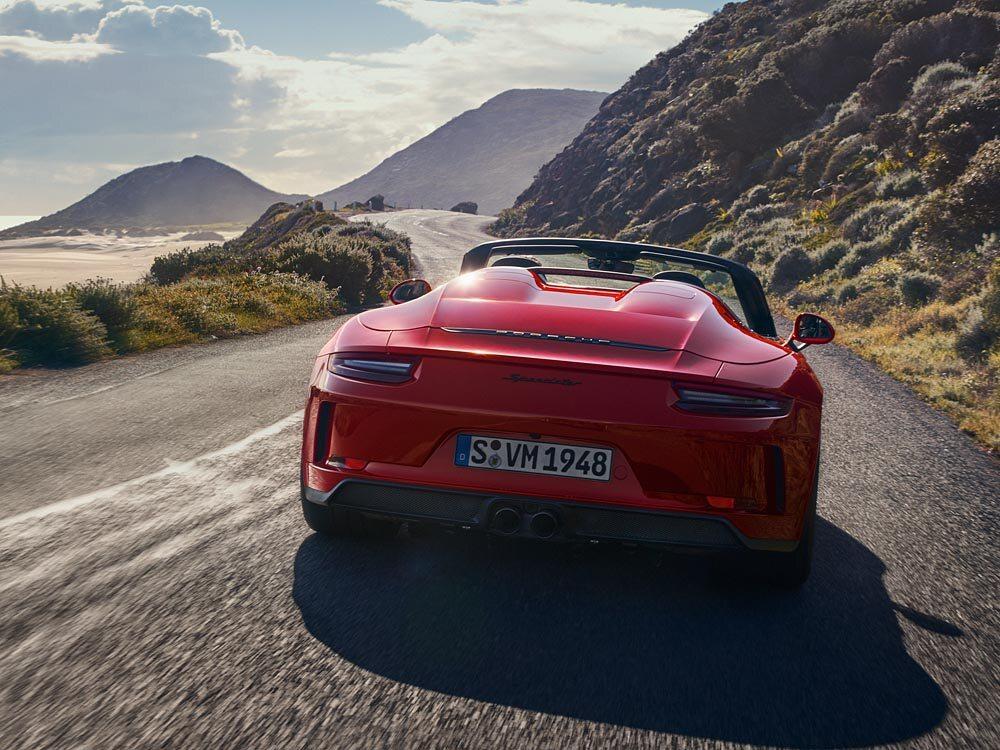 Nowe Porsche 911 Speedster