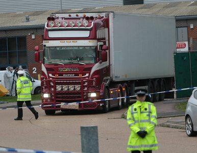 W ciężarówce znaleziono 39 ciał. Wiadomo, skąd pochodziły ofiary