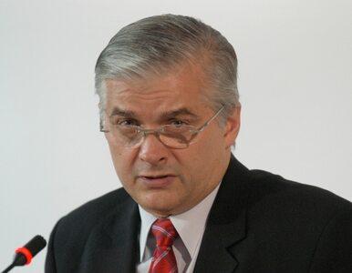 Cimoszewicz: będę głosował na Tuska