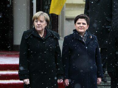 Będą kolejne konsultacje Szydło-Merkel. Tuż przed rozpoczęciem...