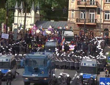 """30 osób zatrzymanych w czasie Marszu Równości w Lublinie. """"Policja..."""