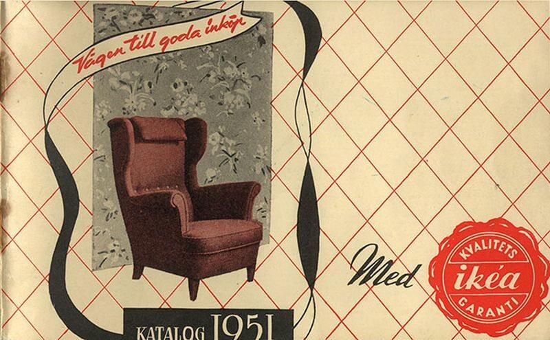 Okładka katalogu IKEA z 1951 roku