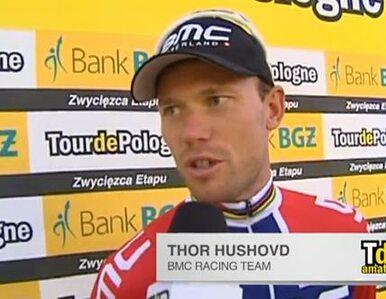 Thor Hushovd: Mój team wykonał świetną pracę