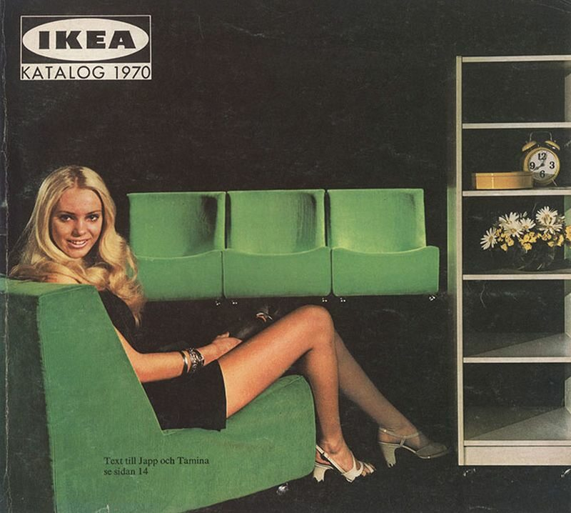 Okładka katalogu IKEA z 1970 roku