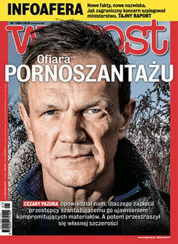 Okładka tygodnika Wprost nr 1/2014 (1609)