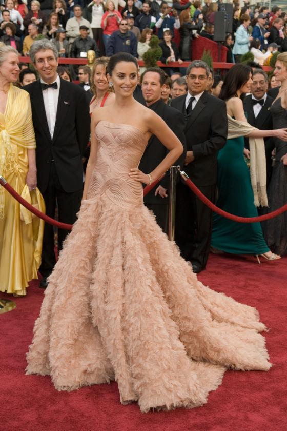 Penélope Cruz podczas 79. ceremonii rozdania Oscarów w 2007 roku