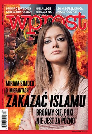 Okładka tygodnika Wprost nr 10/2016 (1727)