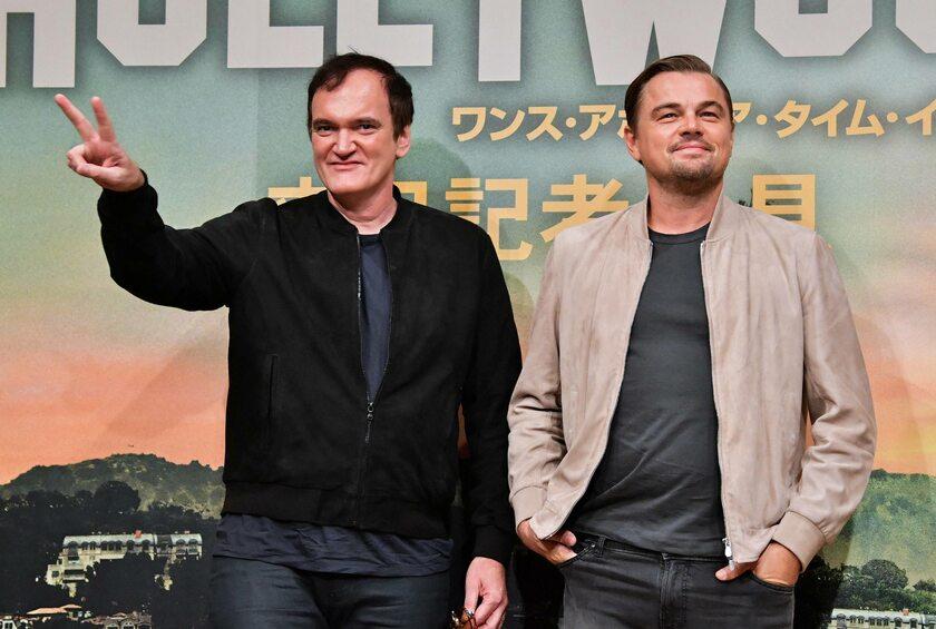Quentin Tarantino i Leonardo DiCaprio