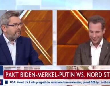Nord Stream 2 i Lex TVN w TVP Info. Poseł KO wywołał śmiech, Suski...