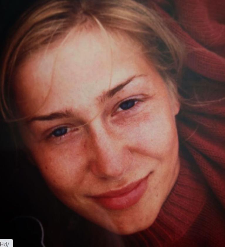 Kasia Warnke w wieku 21 lat Kasia Warnke jako studentka