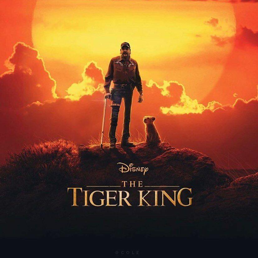 """Mem inspirowany dokumentem """"Król tygrysów"""""""