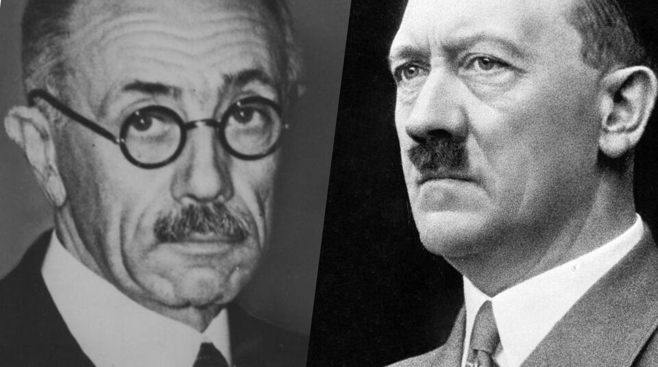 Pal Teleki i Adolf Hitler