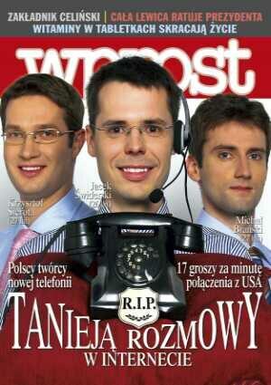 Okładka tygodnika Wprost nr 48/2004 (1148)