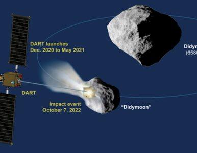 NASA i SpaceX uratują Ziemię? Zestrzelą asteroidę Didymos 65803