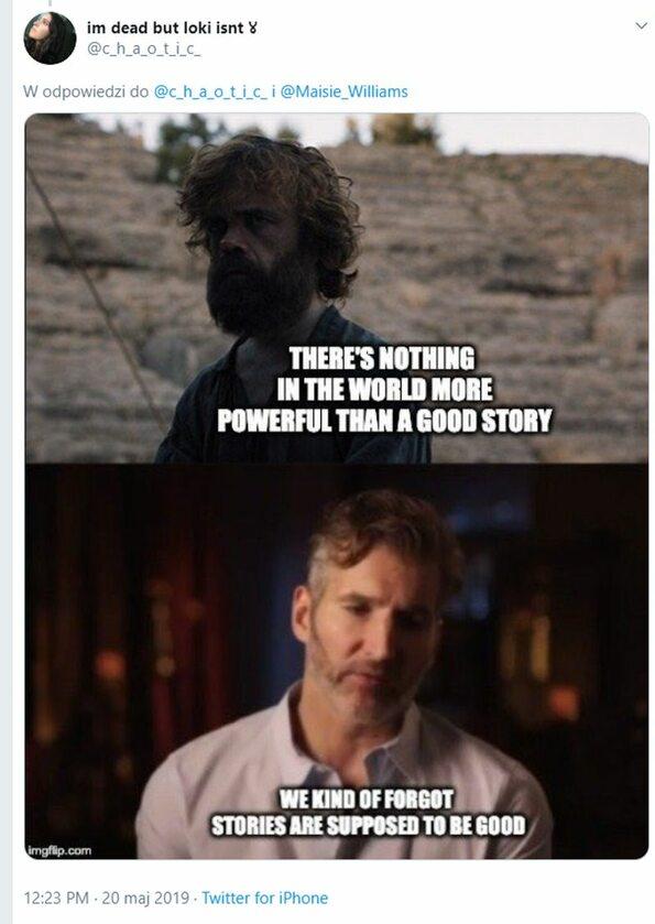 """""""Nie ma nic potężniejszego niż dobra historia"""", """"Tak jakby zapomnieliśmy, że historie muszą być dobre"""""""