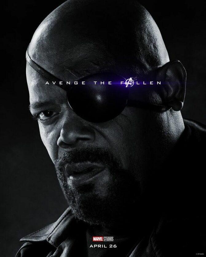 Nick Fury - Samuel L. Jackson