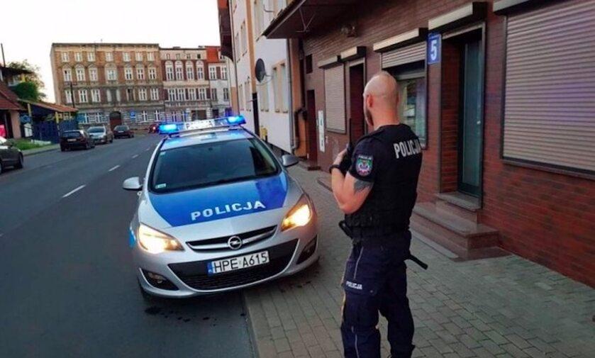 Policja podczas interwencji (zdj. ilustracyjne)