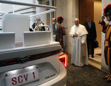 Papież Franciszek jest ekologiem. Właśnie przyjął papamobile na wodór
