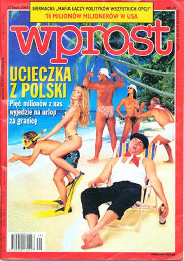 Okładka tygodnika Wprost nr 29/2001 (973)