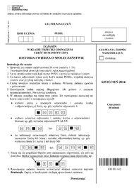 Test gimnazjalny cz. humanistyczna