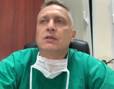 Polski chirurg zapowiada, że pozwie rząd jeśli wybory odbędą się 10 maja