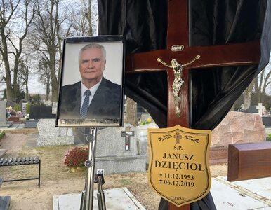 """Ostatnie pożegnanie Janusza Dzięcioła. """"Angażował się w każde swoje..."""