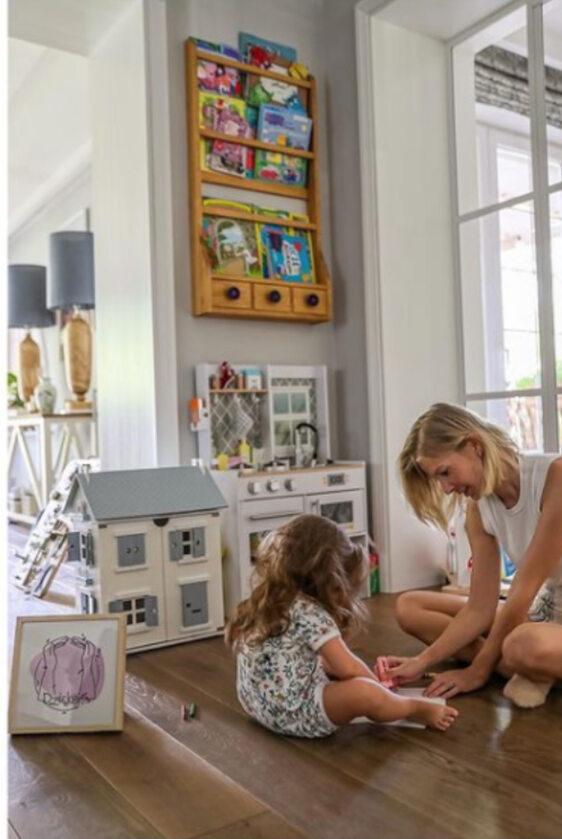 Edyta Pazura z córką