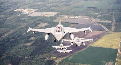Operacja sił powietrznych NATO. Niezwykłe zdjęcia