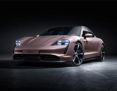 Najtańsze elektryczne Porsche wjeżdża do salonów