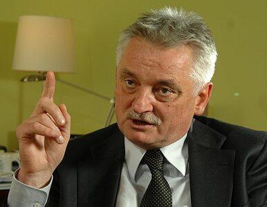 PO nie oczekuje od Drzewieckiego powrotu do polityki