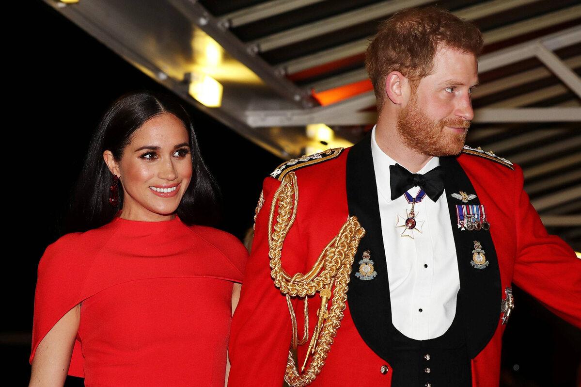 Meghan Markle i książę Harry