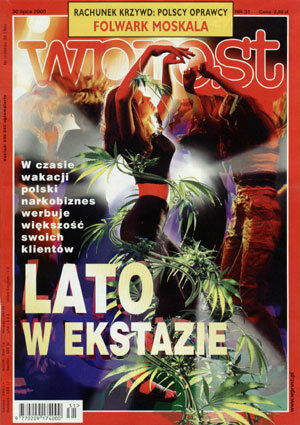 Okładka tygodnika Wprost nr 31/2000 (922)