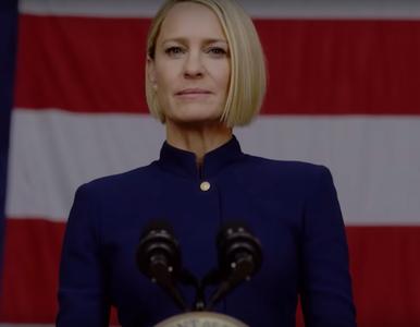 """Wraca """"House of Cards"""". Premiera nowego sezonu z Claire Underwood w roli..."""