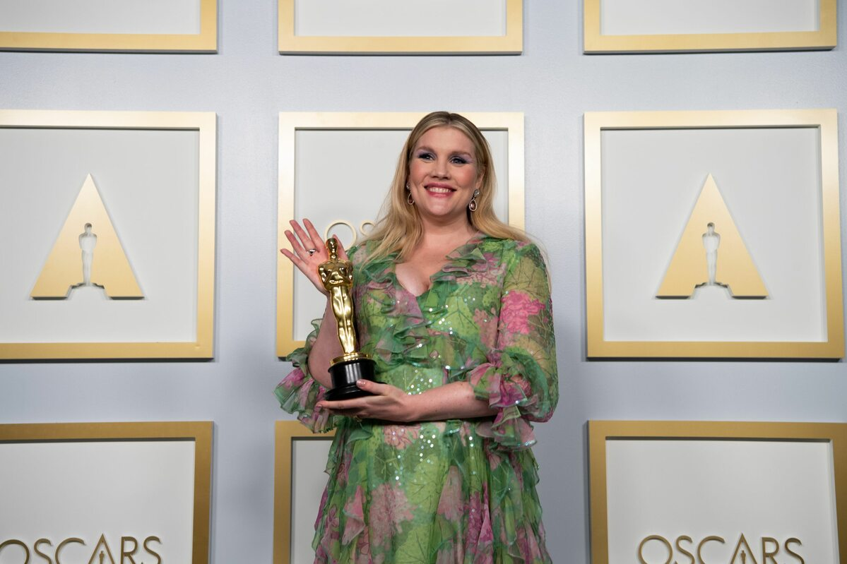 Emerald Fennell z Oscarem