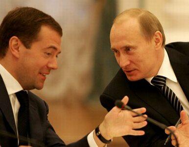 Rosjanie na prezydenta wolą Putina od Miedwiediewa