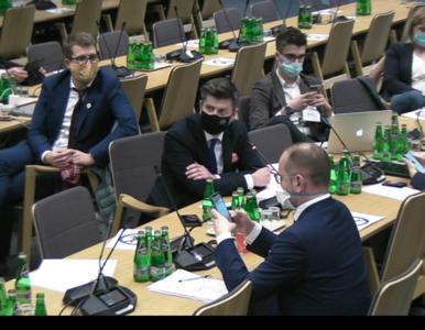 Posiedzenie komisji sprawiedliwości. Śmiszek o Manowskiej: Postanowiła...