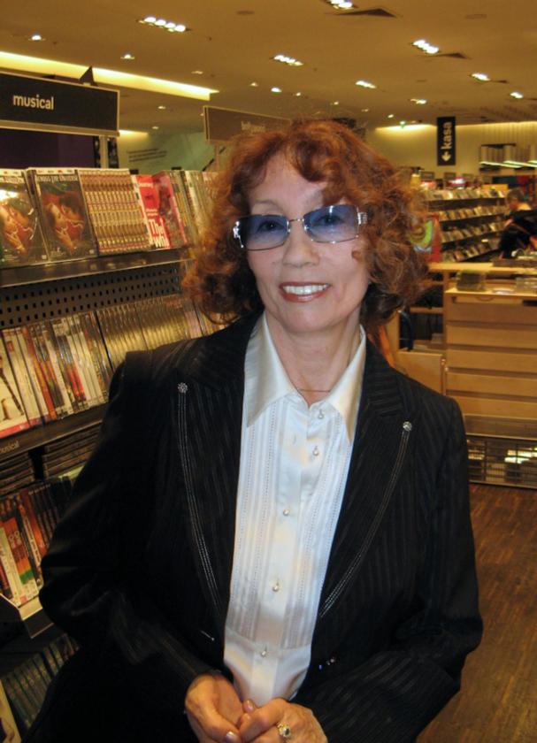Olga Lipińska w 2008 roku