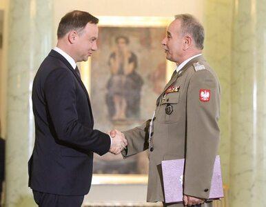 Generał Gocuł ponownie szefem Sztabu Generalngo WP. Prezydent wręczył...